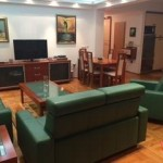 For rent a furnished apartment in behind Center Ramstore